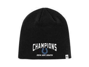 1a6b70b0e78 Indianapolis Colts 47 Brand 2014 AFC South Champions Black Hat Cap Beanie