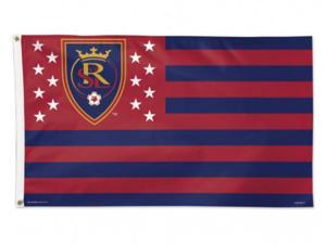 Real Salt Lake City America Stars & Stripes Deluxe Indoor Outdoor Flag (3' x 5')