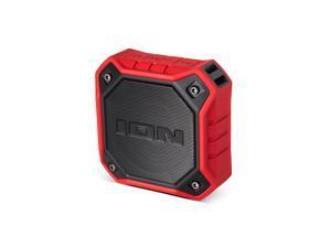 ION Audio Dunk RED Waterproof Portable Bluetooth® Speaker