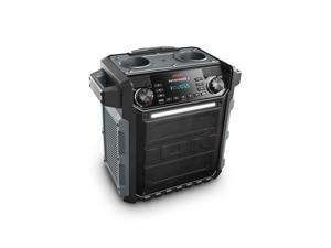 Ion Audio Pathfinder 2  (Grey) High-Power Water-Resistant Rechargeable Speaker