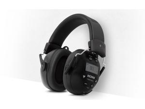 Ion Audio Tough Sounds II Wireless Water-Resistant Hearing Protection Headphones with AM/FM
