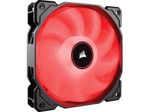 Corsair AF Series AF120 LED (2018) CO-9050080-WW 120mm Red LED Case Fan, Single Pack.