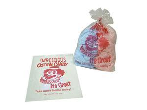 Gold Medal Plastic Cotton Candy Bags 1,000 ct.