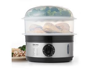 Aroma AFS-186 5 qt. Stainless Steel Food Steamer