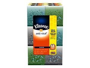 Kleenex Anti-Viral 3-Ply Facial Tissue 12 pk.