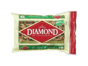 Diamond of California Shelled Walnuts, 16 oz