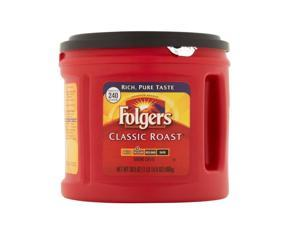 Folgers Coffee Classic Roast Ground 30.5 oz Canister 20421EA