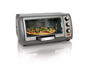Beach 31123D Easy Reach Toaster Oven, Silver