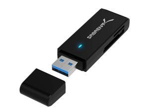 Sabrent USB 3.0 Micro SD and SD Card Reader (CR-T2MS) - New