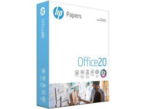 HP Printer Paper, Office20 Paper 8.5 x 11 Paper Letter Size 92 Bright - 1 Ream / 500 Sheets - 172160R