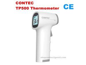 Digital Infrared Thermometer Forehead Temperature Gun Medical use Alarm LCD backlight, CONTEC TP500