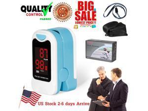Portable CMS50M Finger Pulse Oximeter SpO2 Blood Oxygen Meter Probe Heart Rate Monitor LED Sensor