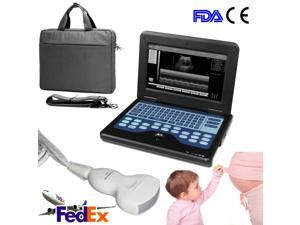 New Portable Laptop Machine Digital Ultrasound Scanner with 3.5MHZ Convex probe,CE&FDA CONTEC CMS600P2 Diagnostic system