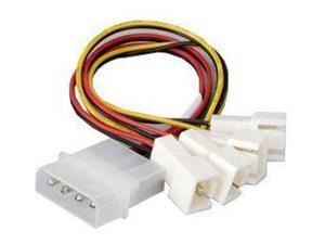 Akasa AK-CB001 Single PSU 4-pin Molex to 4 Fans (AK-CB001)
