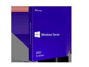 Windows Server 2012 R2 Standard w/ 5CALS and 50 RDS CALS | USB