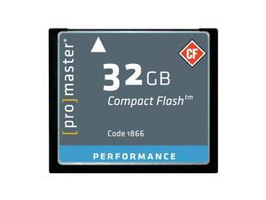 Promaster Performance 32GB Compact Flash Card, 150X