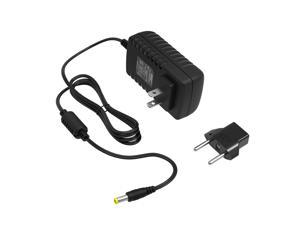 HQRP AC Adapter / Power Supply Cord for ToadWorks Effect Pedals plus HQRP Euro Plug Adapter