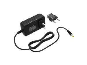 HQRP AC Adapter for ProForm Elliptical Exercisers Power Supply Cord plus HQRP Euro Plug Adapter