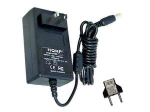HQRP AC Adapter / Power Supply Cord for Linksys Routers plus HQRP Euro Plug Adapter
