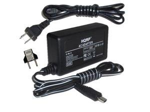 a100H Digital Camera Euro Plug Adapter HQRP AC Power Adapter Compatible with Sony Alpha DSLR-A100 a100K a100 DSLRA100 DSLR-A100H DSLR-A100K DSLRA100K