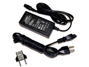 HQRP Fast Battery Charger AC Adapter Power Supply Cord for Electric Scooters plus HQRP Euro Plug Adapter