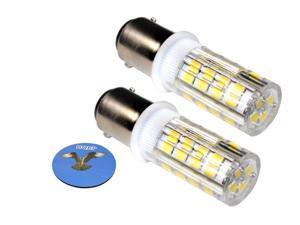HQRP Coaster HQRP 2-Pack LED Light Bulb for AD2062R John Deere X324 LA145 L120 L130 S240 355D GT245 1026R 1023E 4300 4500 4600 4700 Tractor