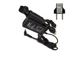 HQRP AC Adapter for HP 15-g029ca / 15-g029wm / 15-g063nr / 15-r000 / 15-r001tu / 15-r005tu / 15-r011dx Laptop / Notebook, Charger Power Supply Cord + HQRP Euro Plug Adapter