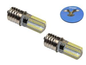 5830//5838 6038 Sewing Machine Plus HQRP Coaster HQRP 110V LED Light Bulb Warm White for Singer 5817//5818 5820//5825 5910//5932