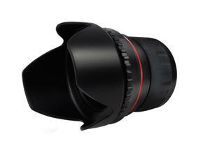 + Lens Cap Holder 49mm Nw Direct Microfiber Cleaning Cloth for Sony E 55-210mm f//4.5-6.3 OSS Lens Cap Side Pinch