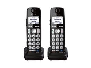 Panasonic KX-TGEA20B DECT 6.0 Technology Additional Digital Cordless Handset 2 Pack