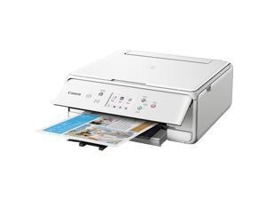 Canon PIXMA TS6120 (2229C022) Duplex Up to 4800 x 1200 DPI USB/Wireless Color InkJet All-In-One Printer - White