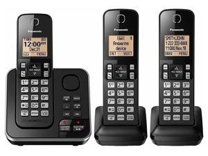 Panasonic KX-TG633SK 3 Handset Cordless Phone