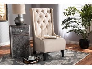 Brilliant Baxton Studio Charlemagne Traditional French Black And Grey Striped Accent Chair Pabps2019 Chair Design Images Pabps2019Com