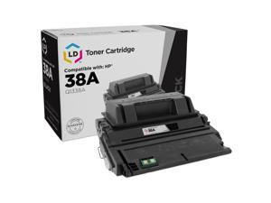 Q1338A Black Laser Toner Cartridge Replacement for Laserjet 4200 4200dtn 4200dtns 4200dtnsl 4200n 4200tn 4240 4250 4350 Series Printer 10 Packs GREENCYCLE Compatible for HP 38A
