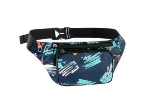 Fanny Pack, Waist Bag Sling Backpack Water Resistant Durable Polyester Small Outdoor Lightweight Crossbody Daypack for Women Men Lady Girl Teens