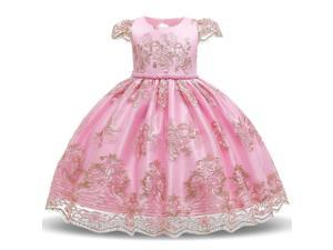 Flower Girls Dresses Toddler Princess Wedding Party Dress