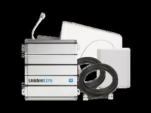 Uniden® U70 4G QB Cellular Booster Kit with Outdoor Yagi 9 & Indoor Panel & 30ft U5D & 15ft U5D