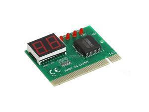 2 Bit PC PCI Diagnostic Card Motherboard Analyzer Tester Post Analyzer Checker Z17 Drop ship