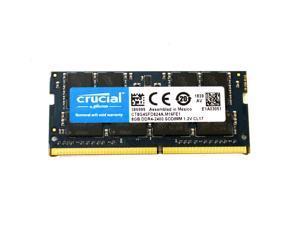 CT8G4SFD824A.M16FE1 Crucial OEM 8GB DDR4-2400 SODIMM 1.2V CL17 Memory Module