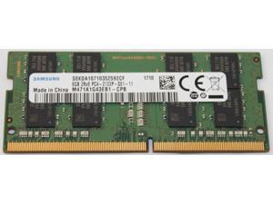 Samsung M471A1G43EB1-CPB 8GB 2133MHz 2Rx8 PC4-2133P-SE1-11 SODIMM Laptop Memory