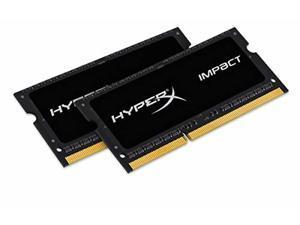 HX316LS9IBK2/16 Kingston Memory HX 16GB DDR3L 1600 2x8GB IMP Black 1.35V CL9 SODIMM