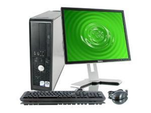 """Dell Optiplex 780 SFF Full Set - 160GB HDD, 4GB RAM, 17"""" LCD, Windows 7 Home Premium"""