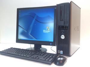 """Dell Optiplex GX620 Desktop Computer Set - 2 GB RAM, 80 GB HDD, 17"""" LCD, Win XP Pro"""