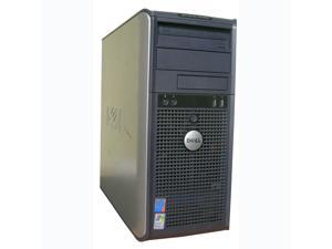 DELL OptiPlex GX620 Mini-Tower PC Pentium 4, 4GB ram, 400GB HDD, DVD Windows 7 Home Premium