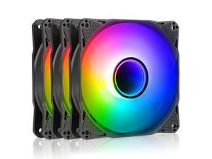 Antec Addressable RGB Fans, 120mm Case Fan, ARGB PC Fans, Infinity Series 3 Packs