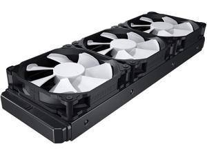 Phanteks (PH-GO360MP_DBK01) Glacier One 360MP D-RGB AIO Liquid CPU Cooler, Infinity Mirror Pump Cap Design, 3X Silent 120mm MP PWM Fans, Black