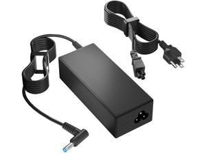 65W AC Power Adapter Laptop Charger for HP Envy X360 13 15 17 15-1033wm 15-1039wm 15-dr0013nr 15m-ds0011dx 15-u010dx 15-u110dx 17m-bw0013dx,Hp Elitebook 820 G3 G4 830 G5 840 G3 G4 G5 Power (65W)