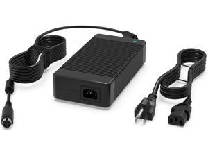 230W AC Charger Fit for MSI Trident 3 8th Arctic 9th 9SI 9SH VR7RC Vortex Workstation W25 8SL 8SK G25 GT75 GT76 GT75VR GT73VR GT63 GT62VR GT83 GT83VR WT75 WT73VR Laptop Power Supply Adapter Cord