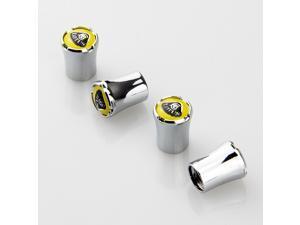 Lotus Auto Valves Stem Air Caps Silver
