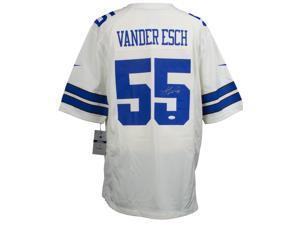 4948f3d9ecc Leighton Vander Esch Signed Dallas Cowboys Nike Replica Jersey JSA